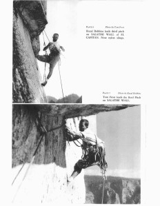 Royal Robbins and Tom Frost on the Salathé Wall.  Tom Frost, Royal Robbins