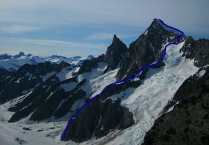 Mt. Burkett, National Public Ridge