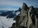 Thriller Arête, on Silly Wizard Peak